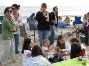 JSerra's Mother-Daughter Beach Party in April