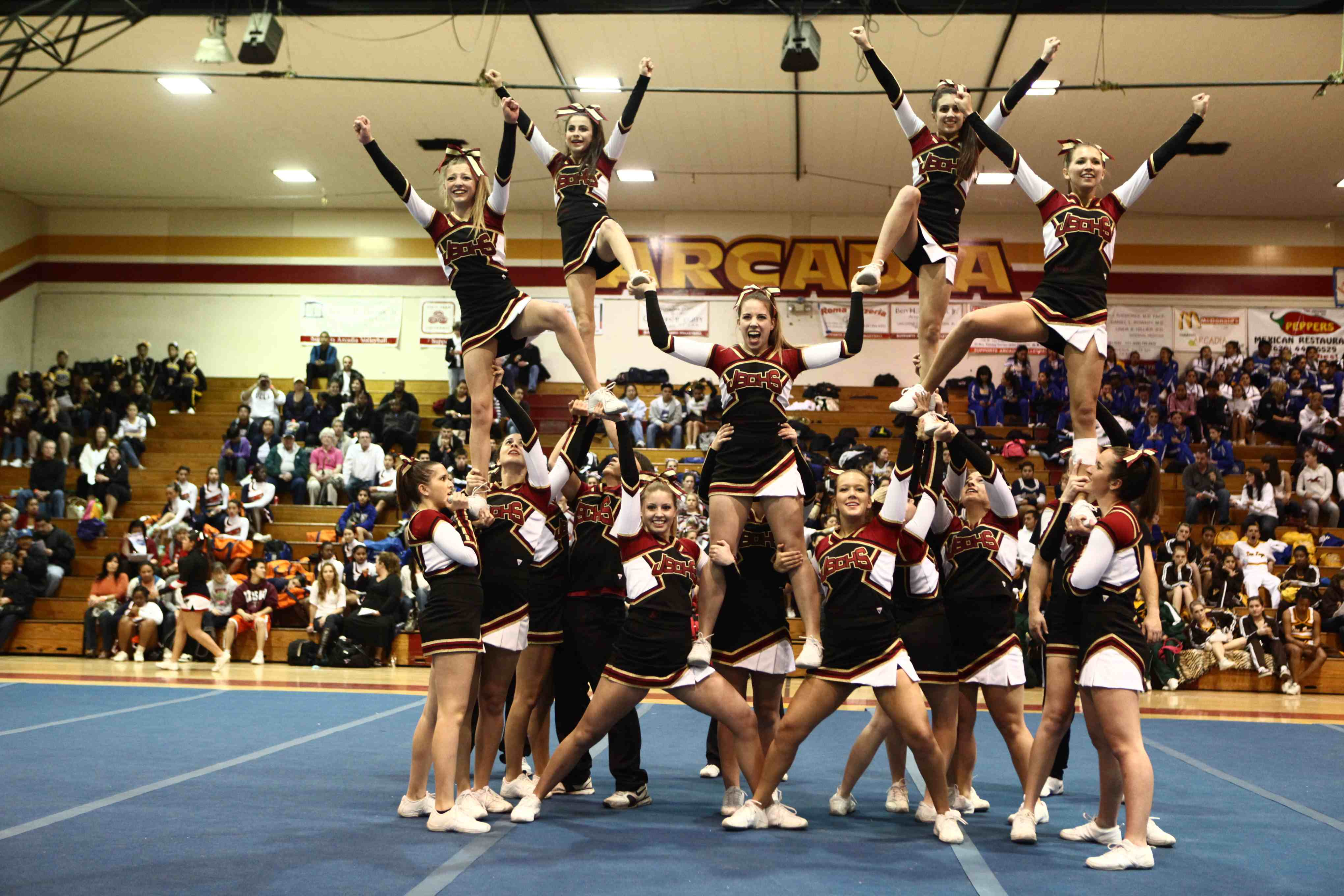 Cheer and Song Squads Earn Top Awards at Regional ...