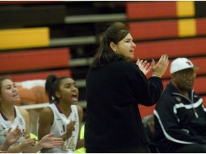 Lady Lions Head Coach Mary Rossignol