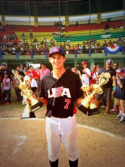 Strumpf after winning MVP in Colombia