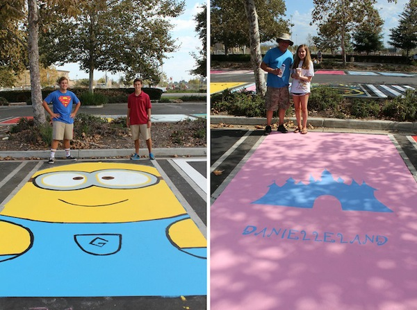 JSerra CHS Blog_Senior Class Parking Spots 2015